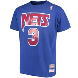 Mitchell & Ness Traditional Tee Drazen Petrovic New Yersey Nets