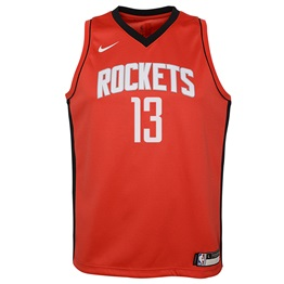NBA X NIKE KIDS HOUSTON ROCKETS JAMES HARDEN ICON SWINGMAN JERSEY