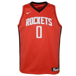 NBA X NIKE KIDS HOUSTON ROCKETS WESTBROOK CON SWINGMAN JERSEY