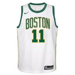NBA X NIKE BOSTON CELTICS KYRIE IRVING CITY EDITION SWINGMAN JERSEY