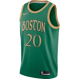 NBA X NIKE BOSTON CELTICS GORDON HAYWARD SWINGMAN CITY EDITION JERSEY 19