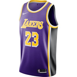 NBA X NIKE LEBRON JAMES LOS ANGELES LAKERS STATEMENT EDITION SWINGMAN JERSEY