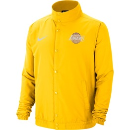NBA X NIKE LOS ANGELES LAKERS LOGO CITY EDITION LIGHTWEIGHT JACKET
