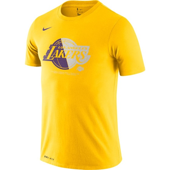 NBA X NIKE LOS ANGELES LAKERS M FNW DRY LOGO TEE