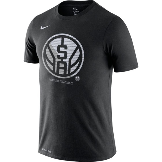 NBA X NIKE SAN ANTONIO SPURS DRI-FIT TEE