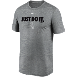 NIKE CHICAGO WHITE SOX TEAM JUST DO IT LEGEND T-SHIRT