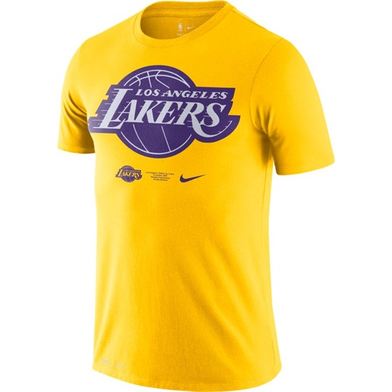 NIKE LOS ANGELES LAKERS LOGO TEE