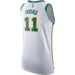 NIKE X NBA BOSTON CELTICS KYRIE IRVING AUTHENTIC JERSEY CITY EDITION