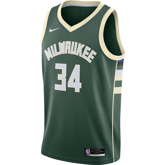 NIKE X NBA GIANNIS ANTETOKOUNMPO MILWAUKEE BUCKS SWINGMAN JERSEY