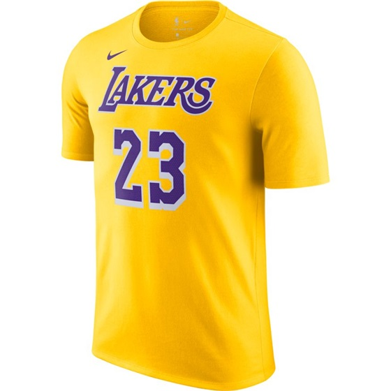 NIKE X NBA LEBRON JAMES LOS ANGELES LAKERS TEE