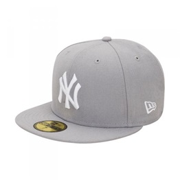 New Era MLB Basic Fullcap New York Yankees Grey/White