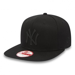New Era MLB RUBBER BADGE NEYYAN BLKBLK