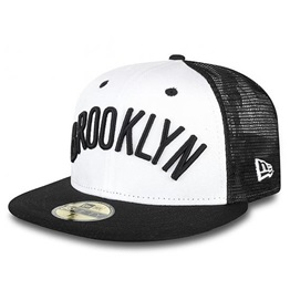 New Era Team Word Arch Cap Brooklyn Nets