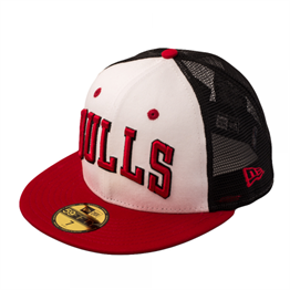 New Era Team Word Arch Cap Chicago Bulls