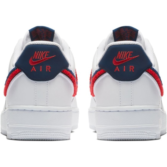 Nike Air Force 1 ´07 LV8 White University Red Blue Void