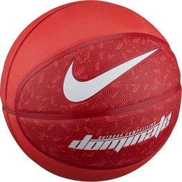 Nike Dominate (Size 5) Basketball TRACK RED/GYM RED/WHITE