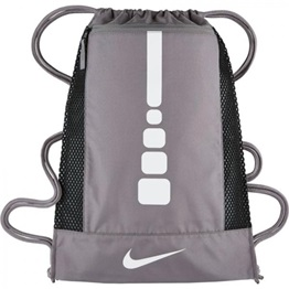 Nike Hoops Elite Basketball Gym Sack CHARCOAL/CHARCOAL/WHITE