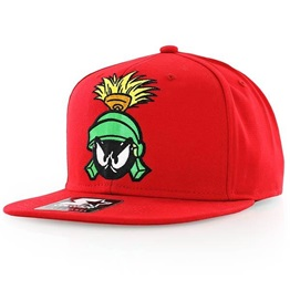Starter Looney Tunes 1Tone Marvin Snapback RED