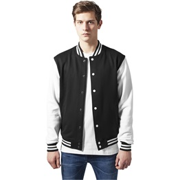 Urban Classics 2-tone College Sweatjacket