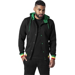Urban Classics Hooded College Sweatjacket